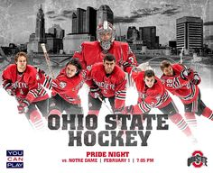 See a Hockey Game for less.see OSU campus Ohio State Hockey, Ohio State University, Ohio State Buckeyes, Cleveland Team, Cincinnati Reds, Hockey Games, Men's Hockey, Hockey Season, Welcome To The Jungle
