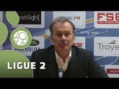FOOTBALL -  Conférence de presse ESTAC Troyes - Tours FC (1-2) - 2013/2014 - http://lefootball.fr/conference-de-presse-estac-troyes-tours-fc-1-2-20132014/
