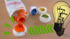 [Focus on #GreatArt] @amyleeparis shows us the best way to clean #acrylic caps! #acrylic #painting #cleaning