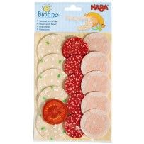Haba Play Food Slices Of Meat