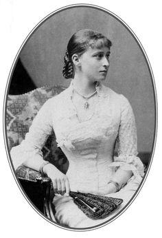 Princess Ella of Hesse, Grand Duchess Elizaveta Feodorovna of Russia. 1880s.