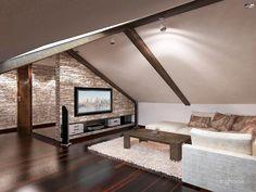 Excellent Attic Rooms Stairs Ideas Jaw-Dropping Ideas: Attic Desk Woods attic renovation i Attic Spaces, Attic Rooms, Small Spaces, Attic Bathroom, Attic Playroom, Attic Bedroom Designs, Attic Design, Interior Design, Attic Loft