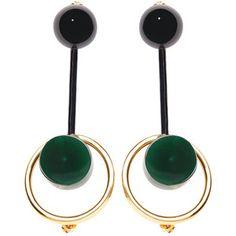 Marni Cabochon earrings