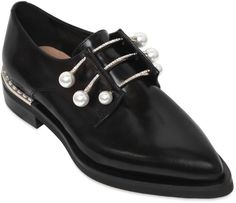 20mm Ferny Leather Piercing Shoes