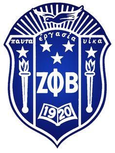 Zeta Phi Beta Sorority, Inc. Crest