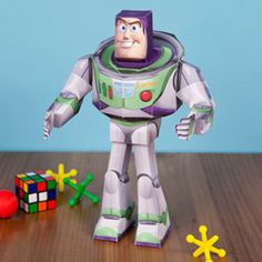 Buzz Lightyear Papercraft- Southern Outdoor Cinema expert tip for theming and enhancing an outdoor movie event.