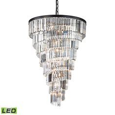 Buy the Elk Lighting Oil Rubbed Bronze Direct. Shop for the Elk Lighting Oil Rubbed Bronze 14 Light 8 Tier Crystal Chandelier from the Palacial Collection and save. Bronze Chandelier, Chandelier Ceiling Lights, Led Pendant Lights, Pendant Lighting, Crystal Chandeliers, Large Chandeliers, Light Pendant, Ring Chandelier, Chandelier Ideas