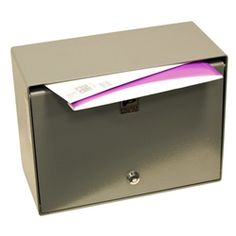 SDB-250 Wall Mounted Drop Box With Tubular Lock