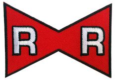 Red Ribbon Anime Dragon Ball Z Cosplay Jacket Patch