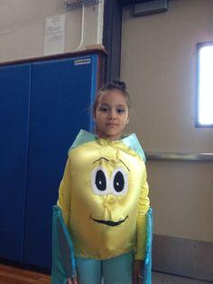 Flounder costume