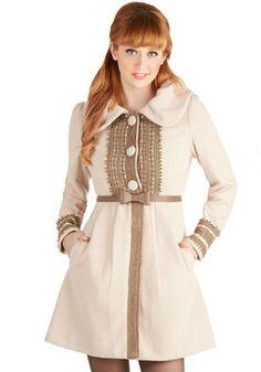 Oat Couture Coat, #ModCloth