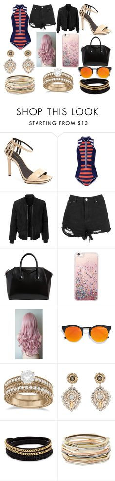 """""""piscina"""" by arantxamiled ❤ liked on Polyvore featuring beauty, Calvin Klein, Duskii, LE3NO, Boohoo, Givenchy, LULUS, Allurez, Miguel Ases and Vita Fede"""