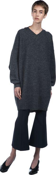NAPOLEON Oversized Backless Sweater | Ellery | LOIT