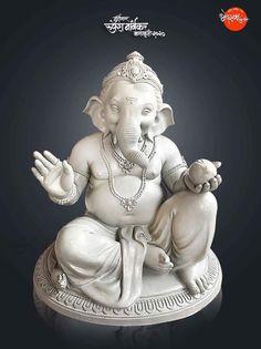 Shiva Art, Krishna Art, Hindu Art, Shri Ganesh Images, Ganesha Pictures, Clay Ganesha, Ganesha Art, Happy Ganesh Chaturthi Images, Ganesh Photo