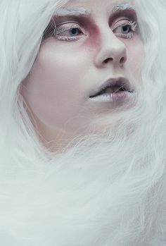 White Widow by Valerie Mrosek, via Behance