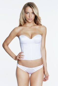 b667c7ee5c Dominique Longline Smooth Strapless Bridal Bra 8541 Get the support and  comfort you crave in this long line bridal bra. Features a smooth microfiber