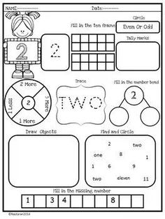 Numbers Worksheets +Assessment - Number To 20 by Nastaran Math For Kids, Lessons For Kids, Fun Math, Math Lessons, Math Help, Teaching Numbers, Math Numbers, Teaching Math, Teaching Ideas