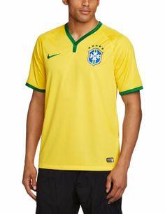 5ca133d05d Camiseta oficial del equipo de Brasil 2014   2015 - Nike Brazil Players