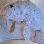 Pattern available for $8.00.  This will be Barbara Manatee someday!