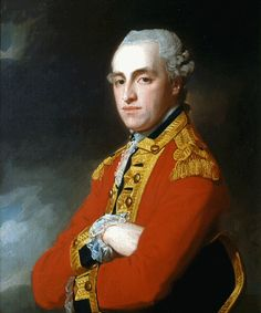 Captain and Lieutenant Colonel John Thomas de Burgh, 1st Regiment of Foot Guards, a veteran of the American War of Independence.
