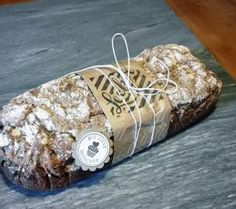 """Brotbanderole für selbtgebackenes Brot mit dem Stempelset: """"Hausgemachte Leckerbissen"""" und erprobtes Rezept für ein Roggen-Sauerteigbrot   Urmels Stempel-, Stanz- und Filzparadies"""