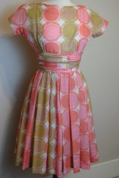 Vintage Dress 1950s Howard Wolf Vintage Spring by decadencefashion, $78.00