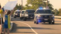 Police Escort Toddler Cancer Patient To Her Last Chemo Treatment - http://www.kidssafetynetwork.com/police-escort-toddler-cancer-patient-last-chemo-treatment/
