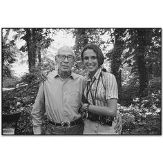 Jack Garofalo :: Henry Miller and Mary Ellen Mark, Paris, France, 1970