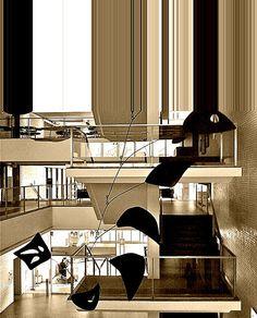 Calder Stairway enhancement #3, via Flickr.