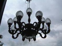 ight Pineapple acorn chandelier
