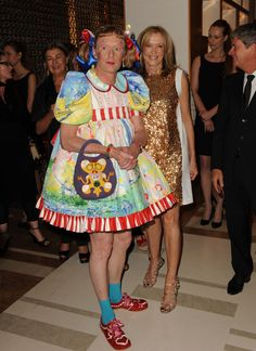 Grayson Perry (born is an English potter and fashion icon, well I suppose not everyone would call him a fashion icon, but I certainly . Grayson Perry Art, The Course Of Empire, Men Wearing Dresses, Brolita, Prissy Sissy, Bond Street, Great Women, Textiles, Great Friends