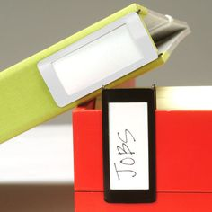 Clip-On Label Holder Set - See Jane Work