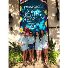 """""""Come one, come all, to the best sorority of them all."""" -- cute Bid Day carnival/circus theme!"""