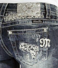 Miss Me Boot Stretch Jean I like the lace instead of bling. Gray Gray Clark Your jeans. Country Outfits, Fall Outfits, Cute Outfits, Cute Fashion, Girl Fashion, Fashion Outfits, Steampunk Fashion, Gothic Fashion, Fashion Ideas