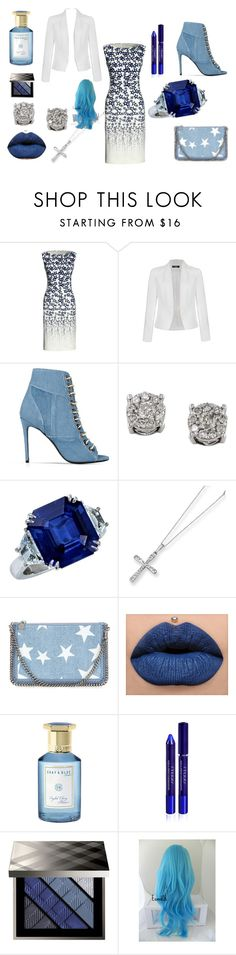 """""""BLUE STARS"""" by alicepink16 on Polyvore featuring Canvas by Lands' End, Ally Fashion, Barbara Bui, Effy Jewelry, Kevin Jewelers, STELLA McCARTNEY, Shay & Blue, By Terry and Burberry"""
