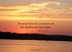 No limits.