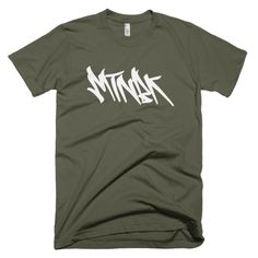 "MTNBK ""Graffiti"" T-Shirt - Lieutenant, available on www.MTNBK.com"