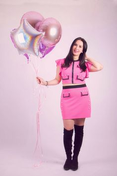 Happy birthday post  Fashion blogger Pink outfit  Da Wearhouse