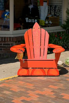 Lobster Chair, Kennebunkport, Maine