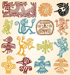 - mexican symbols Mexican symbols-line drawings in color. Can use for Mexican tin art inspiration.Mexican symbols-line drawings in color. Can use for Mexican tin art inspiration. Art Chicano, Chicano Tattoos, Art Tribal, Tin Art, Illustration Vector, Animal Illustrations, Mexican Folk Art, Free Vector Art, Eps Vector