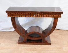 Art Deco Schminktisch Console Tables 1920er Möbel.