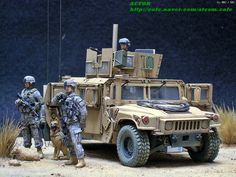 M1151 HUMVEE 'Passion of desert'