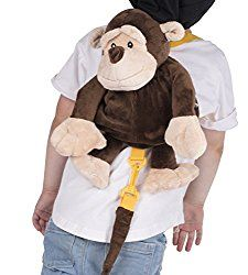 Have an active child/toddler? Getting ready to go on a trip? Check out this great monkey backpack harness! AD 10 valuable benefits of using a backpack harness. Have you been debating on getting a backpack harness? Is the possible sideways glances you'll receive stopping you? Check out these great benefits of using one, and stop worrying! #parentingtips #safety #parentinghack