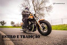 Harley Davidson Sportster XL 1200 CA - Estilo e Tradição - Test drives - Andar de Moto