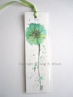 Watercolor sunflower here comes the sun Aquarell – Watercolor Bookmarks, Watercolor Projects, Watercolor And Ink, Watercolor Paintings, Watercolors, Watercolor Flowers Tutorial, Watercolor Sunflower, Creative Bookmarks, Diy Bookmarks