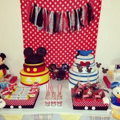 Mickey Mouse and Donald Duck Party #mickey #donald