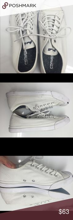 Clothing, Shoes & Accessories Size 8.5 Fashion Style Very Nice Womens Converse Jack Purcell Sneakers Comfort Shoes