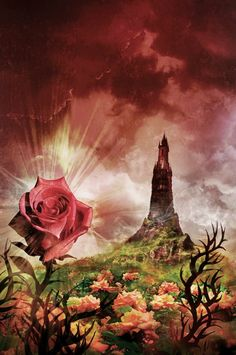 Cover for The Dark Tower (The Dark Tower, Book 7) by Stephen King  Copyright…