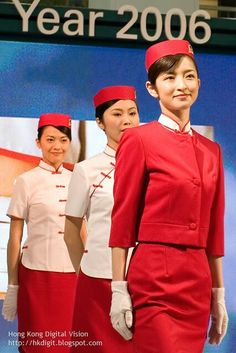 Cathay Pacific Airways uniform of 1962