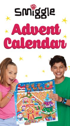 The Smiggle 2017 Advent Calendar has arrived!!